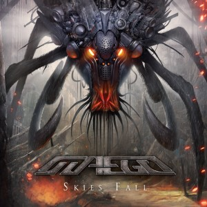 "MAEGI Debutalbum-CD ""Skies Fall"" Cover"